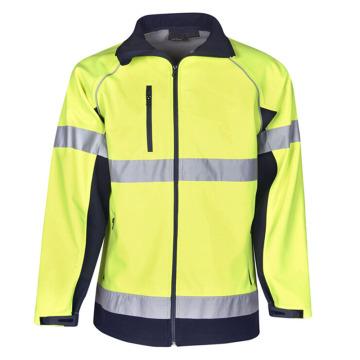 Подгонянная хлопковая светоотражающая куртка безопасности