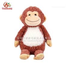 2016 novo design animal macaco recheado de brinquedos de pelúcia por atacado na China
