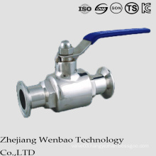 2PC Sanitary Ball Valve with Clamp Ends for Portable Water