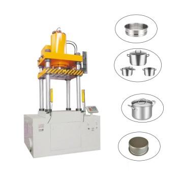 Aluminum kitchenware hydraulic pressing machine