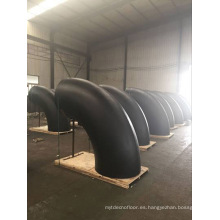 codo de montaje de tubería de gran tamaño