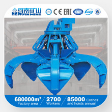 Kuangshan Electric Hydraulic Grab Crane for Lifting Bulk Material