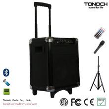 Fabrik Versorgung Kunststoff PA System Portable Active Speaker mit Batterie