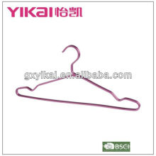 aluminium cloth hanger with notches and trousers bar