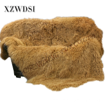 Hetaste Golden Super Soft Mongolian Lamb Fur Push