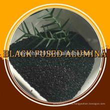 black fused alumina/black aluminum oxide powder/corundum for sandblasting abrasive