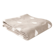 Heavy Weight Reversible Cotton Knit Baby Blanket CB-K16016