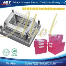 nuevo molde de cesta de plástico