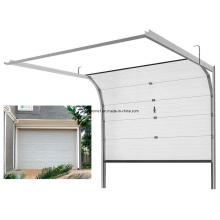 Porta de garagem seccional de alumínio