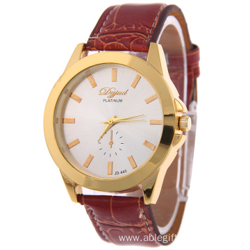 New Arrival Girls Leather Wristband Quartz Watch