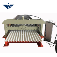 0.3-0.8mm galvanized corrugated steel metal roofing sheet roll forming machine china manufacturer