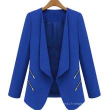 Nouveau style Slim Casual Business Outwear pour femmes (50012)