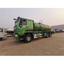 Howo 6x4 reabastecimento caminhão tanque de óleo combustível
