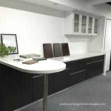 De alta calidad de nuestra oficina gabinete de cocina de chapa de madera
