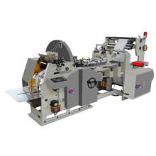 Машина для производства бумажных пакетов для фаст-фудов, плоская нижняя сумка