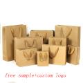 Custom Print Eco Bag Art Paper Material Shopping Promotion Wedding Use Luxury Handle Paper Bag