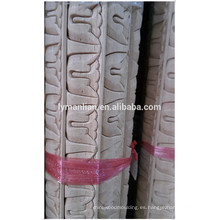 moldura de madera tallada cuerda moldura de madera