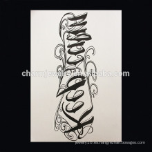 OEM Venta al por mayor tatuaje tatuaje brazo cruz tatuaje animal tatuaje W-1006