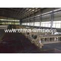 Air jet power loom making bedding fabric belong to industrial loom