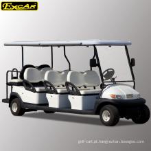 Barato carrinho de golfe de 8 lugares para venda ônibus elétrico de turismo mini ônibus elétrico