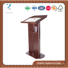 Floor Standing Portable Podium with Open Back