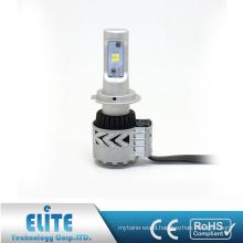 Super White High Quality G8 H7 6000LM 6500K Pure White Single Beam LED Car Headlight With Turbine Fan