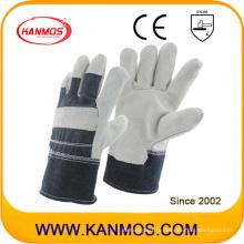 Серые Полные пальцы из лакированной кожи с защитой от лакированной кожи (11005)