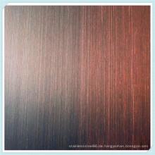 201 Edelstahl Ket010 geätztes Blatt für Dekorationsmaterialien