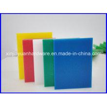 Feuille vierge 100% Vierge Matière colorée UHMWPE, feuille PE (10-250mm)