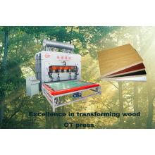 laminate short cycle press machine/wood glue laminating press