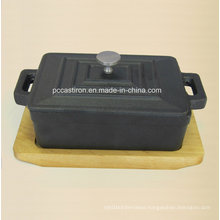 Preseaseond Cast Iron Mini Sauce Pot Size 12.5X9X4.5cm