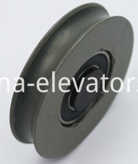 Hitachi Elevator Door Hanger Roller Curved Groove 20mm Length Shaft 65*13*6202