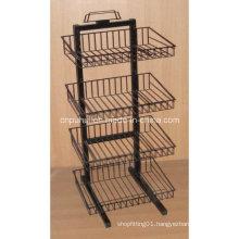 4 Tier Floor Basket Shelf (PHY324)