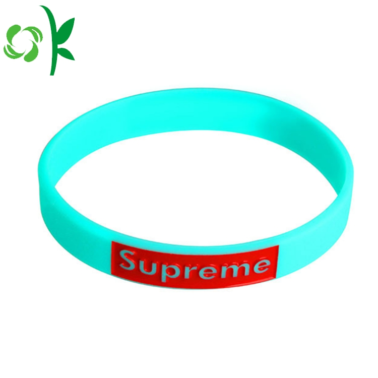 Light Blue Silicone Bracelet