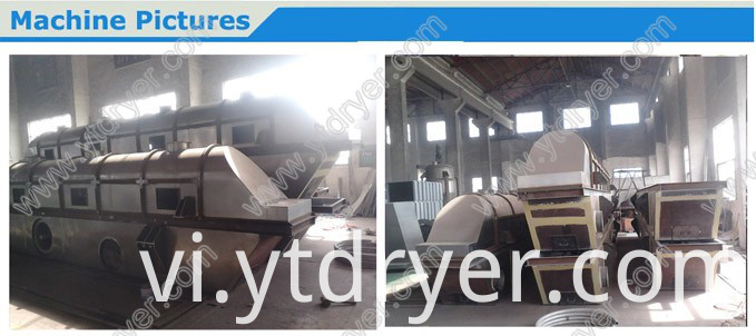 Food Flush Salt Fluid Bed Dryer