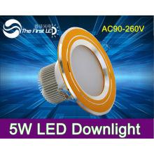 5W led down light 220V Warm color white color novelty items