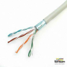 26awg ftp cat5e cable 4 pair manufactured by professional cable factory LANSAN