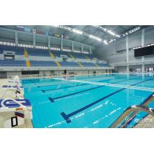 Système de toiture préfabriqué de piscine de structure en acier