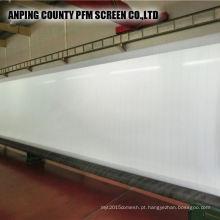 Poliéster 100% que forma a roupa da tela para a factura de papel