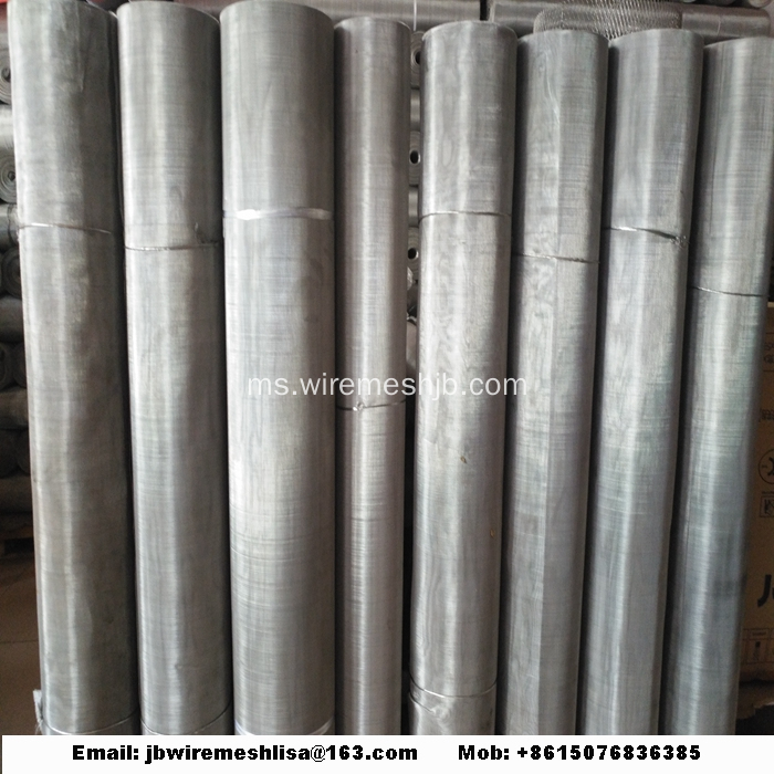 304/316 Plain Weave Stainless Wire Mesh Mesh