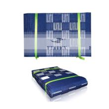 Nouvelle conception africaine aso oke headtie gele Wrapper Ipele1 pc / set Beaucoup de couleurs utilisées pour la fête de mariage ROYAL BLUE
