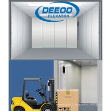 Ascenseur de fret de cargaison d'entrepôt de grand espace