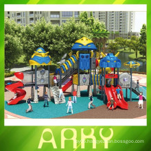 2015 used children colorful outdoor hero playground equipment