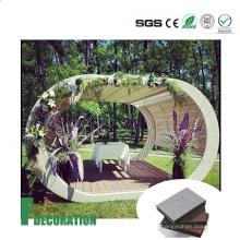 Wirtschaftlich Preis Composite Outdoor Decking Fliesen WPC Patio Bodenbelag
