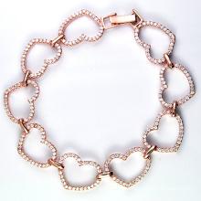 Nueva pulsera de plata de la joyería de la manera de los estilos 925 (K-1753. JPG)