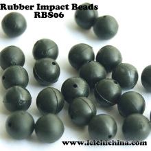 Vente en gros Perles d'impact en caoutchouc de pêche de haute qualité