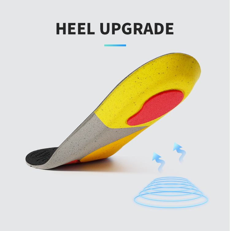 Sports insole elastic display