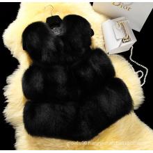New 2016 Winter Coat Women Faux Fur Vest High-Grade Fur Coat Jacket