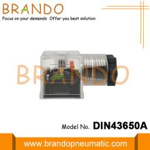 DIN 43650A Female Thread Electro Valve Connector