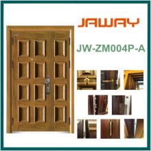 Steel Armored Splicing Security Door 2014 Wood Grain UV-Proof